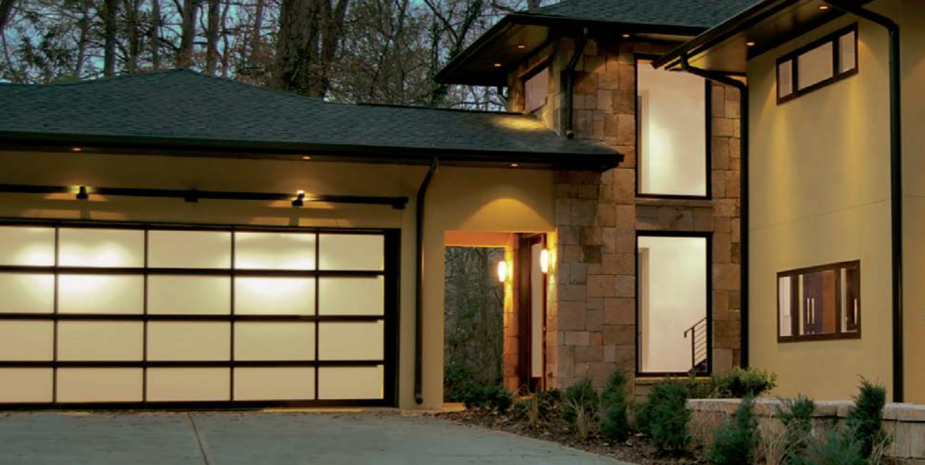 Architectural Modern Garage Doors
